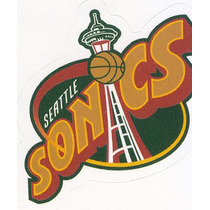 1997 Ud Choice Italian Sticker Sonics Logo Team #135