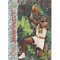 1997-98 Skybox Z-force Total Impact Shawn Kemp Sonics