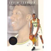 1993-94 Skybox Premium Draft Picks Ervin Johnson Sonics