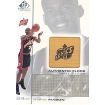 2000-01 Sp Game Used Floor Desmond Mason Sonics