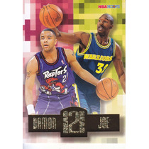 1996-97 Hoops Head To Head Damon Stoudamire Joe Smith