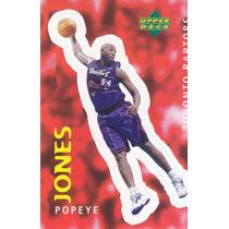 1997 Ud Choice Italian Sticker Popeye Jones Raptors #313