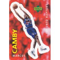 1997 Ud Choice Italian Sticker Marcus Camby Raptors