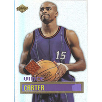 1999 Edge Game Ball Vince Carter Raptors