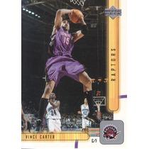 2001-02 Upper Deck Vince Carter Raptors