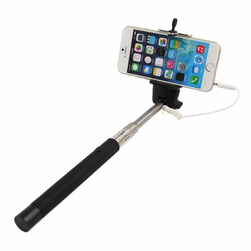 baston selfie stick con boton celular iphone android camara en mercadolibre. Black Bedroom Furniture Sets. Home Design Ideas
