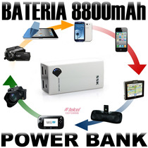 Bateria Externa Ssk 8800mah Power Bank Cargador Rapido I