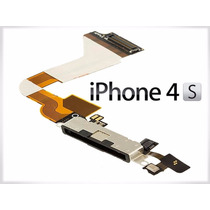 Flex Centro De Carga Dock Conector Usb Original Iphone 4s