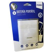 Bateria Externa Mobo No. 29 Blanco 10 000 Mah 2 Entradas Usb