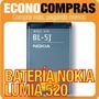 Batería Bl-5j Para Nokia Lumia 520 Original 100% Nueva!!!!!!
