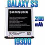 Pila Bateria Samsung Galaxy S3 I9300 2100 Mah