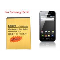Bateria Para Galaxy Ace S5830 2450mah 3.7 V Alta Capaci Mdn