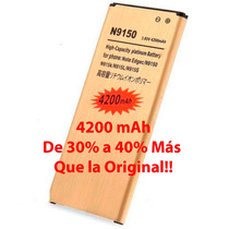 4200mah Bateria Galaxy Note 4 Edge Larga Duracion 30% A 40%+