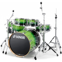 Bateria Sonor Essential Force 6 Pzs, Banco Y Baquetas Gratis