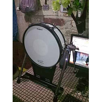 Bass Drum Roland V- Kick Kd-120 Wt De V° Drums.