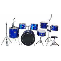 Bateria Acustica Musical Profesional 7 Piezas + Accesorios