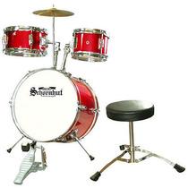 Schoenhut Junior De 5 Piezas Drum Set