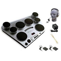 Pad Yamaha Dd65 Electronic Drum Paquete Premium Con Auricula