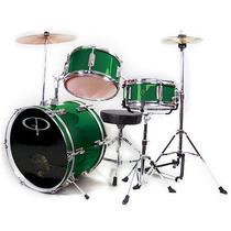 Gp Percusión Gp50g Completo De 3 Piezas Júnior Drum Set - Ve