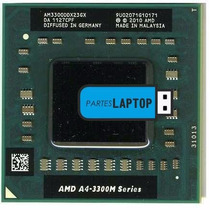 Procesador Amd A4-3300m Socket Sf1 2.5 Ghz Laptop