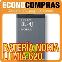Batería Bl-4j Para Nokia Lumia 620 Original 100% Nueva!!!!!!