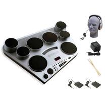 Kit Bateria Musical Electrica Yamaha Dd65 + Accesorios