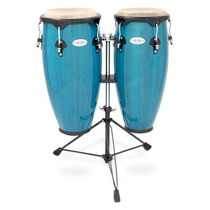 Congas Toca Synergy 10 /11 Mad.azul C/at Mod. 2300bb