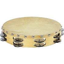 El Sonido De Percusión Pandereta Con La Piel De Becerro Cabe