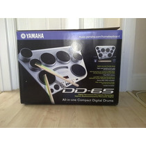 Kit Bateria Musical Electrica Yamaha Dd65 Nuevo Y Sellado