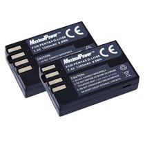 ( 2 ) Bateria D-li109 P/ Camara Pentax K R K2 K30 K50 K500