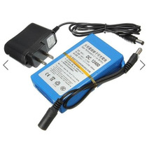 Bateria Recargable Li-on Litio 12v 4000 Mah Led Bici 4a