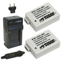 2-pack Batería Genérica Canon Lp-e8 Incluye Cargador
