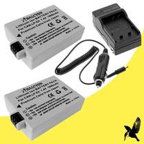 2-pack Batería Genérica Canon Lp-e5 Incluye Cargador