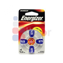 2 Paquetes Pila Energizer Auditiva 675 Con4 Pilas Az675
