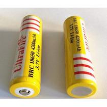 Bateria Pila Recargable 18650 3.7v 4200mah