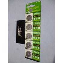 Baterías Pilas Cr2025. C/5. Reloj, Calcu, Pc. Litio. 3 Volts