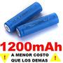 Par Baterias Pilas 14500 3.7v 1200m Ah + Por - Recargables