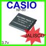 Bateria Camara Digital Casio Np-60 3.7v Nuevo Guadalajara