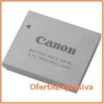 Canon Bateria Nb-4l Li-ion Para Camara Powershot Sd780 Is