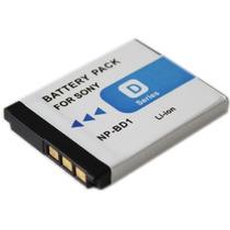Batería Para Cámara Fotográfica Sony Tipo D Compatible