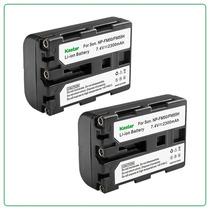 2 Baterias Np- Fm50 Para Camaras Sony Dcr-dvd100