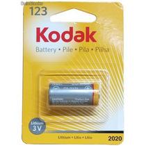 Pila Batería Cr 123 Kodak Litio Cámaras Fotográficas