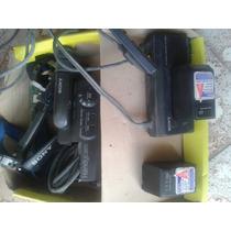 Baterias Cargador Originales Para Camara Handycam Nuevas