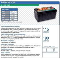 Bateria Ciclo Profundo Lth Solar 115ah L-31t/s-190