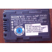 Bateria Pila Sony Np-fp30 Orijinal