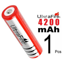 Bateria Pila 3.7v C/4200m Ah! Recargable 18650 Ultrafire Msi