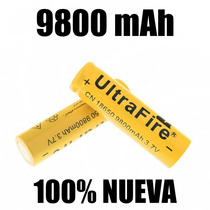 Bateria 18650 Pila 9800 Mah Litio-ion 3.7v Recargable