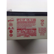 Batería Recargable 12v 12a Génesis (yuasa)