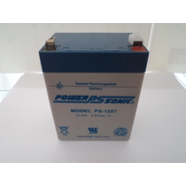 Bateria Recargable 12v 2.9 Amp Acido Plomo Ps1227 Powersonic