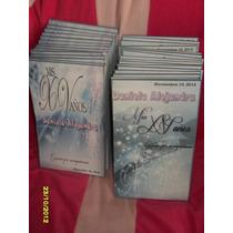 Libretas Personalizada Xv Años,bodas,bautizo,graduacion